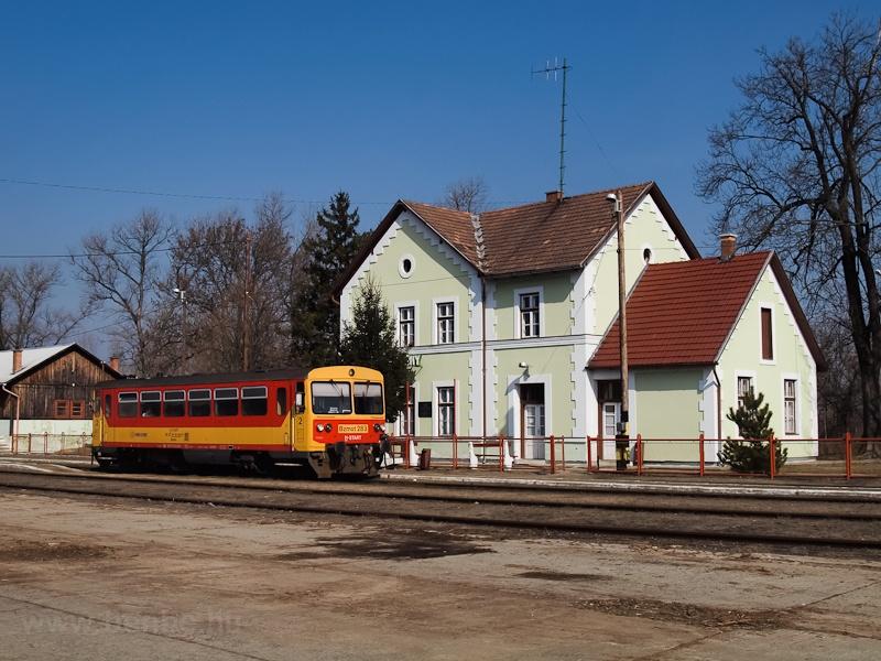 A Bzmot 283 Szécsényben fotó