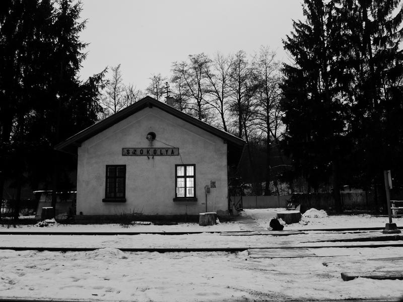 Szokolya állomás felvételi  fotó