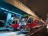 Az 5341 007-2 és egy társa a Nyugati pályaudvaron