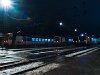 BDVmot motorvonatok gyülekeznek Vácott kora hajnalban