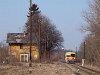 A Bzmot 344 a régi Őrhalom állomáson