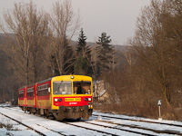 The Bzmot 243 at Szokolya station