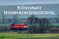 Gravel train from Nógrádkövesd