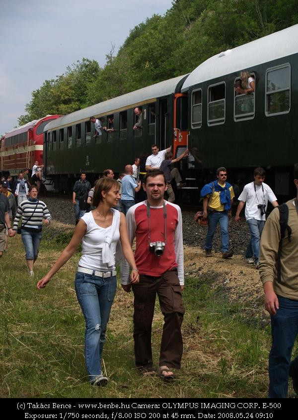 A vonatfotózás páros hobbi fotó