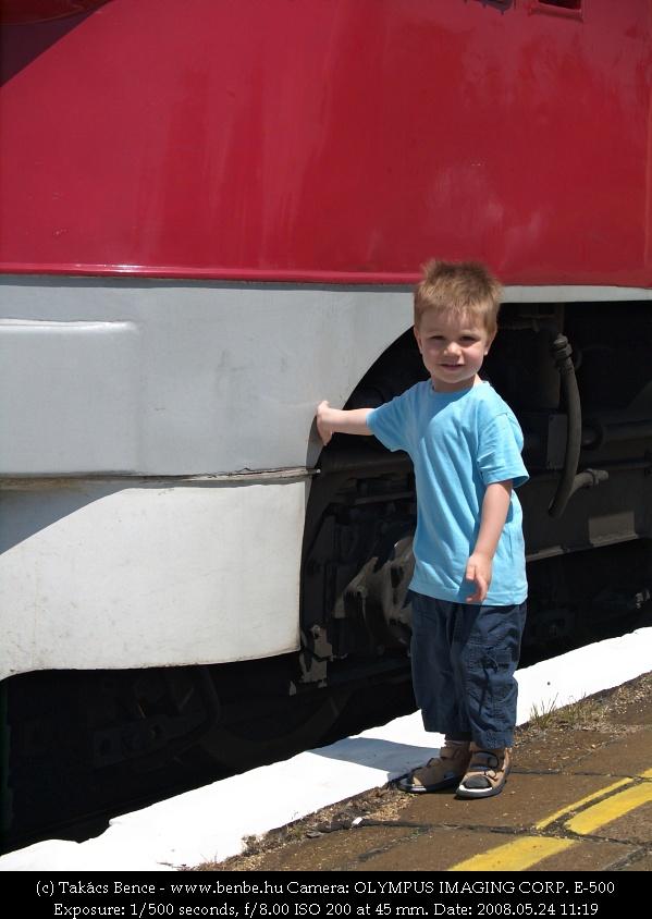 A második legifjabb vasútbarát fotó