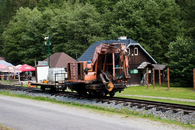 Weed-killer train at Vydrov photo