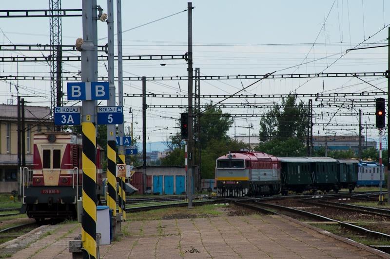 A ŽSR 753 109-8 és a & fotó