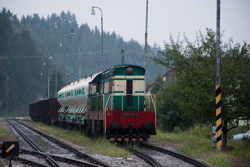 The ŽSSKC 770 058-6 se photo
