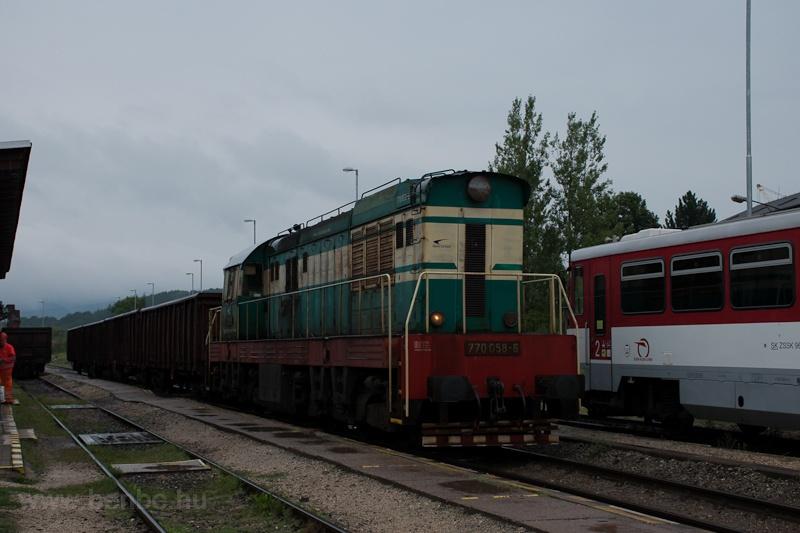 A ŽSSKC 770 058-6 tola fotó