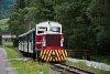 A Čiernohronská Lesná Železnica TU45 001 Feketebalog és Vydrovo Skanzen között
