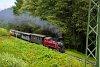 A Čiernohronská Lesná Železnica 764 407 Feketebalog és Vydrovo Skanzen között
