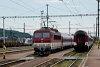 A ŽSSK 363 143-9 Kassa állomáson