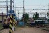 A ŽSR 753 109-8 és a ŽSSK 721 030-5 Kassa állomáson