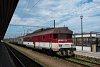A ŽSSK 460 043-3 Kassa állomáson