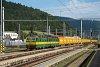 A ŽSSKC 131 047-3 Margitfalva állomáson SBB-Post postavonattal