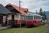 A Trenčianská Električká Železnica 911 902-5 Feketebalog állomáson
