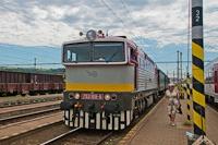 A ŽSR 753 109-8 Kassa állomáson