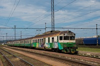 A ŽSSK 460 037-5 Kassa állomáson