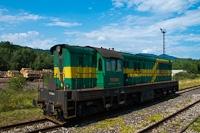 A PSŽ 770 602-1 pályaszámú Dongó (Čmelak) Szepesremete állomáson