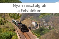 Summer Historic Trains in Slovakia