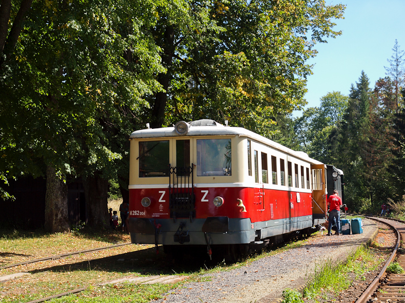 The ČSD M262 004 seen  photo