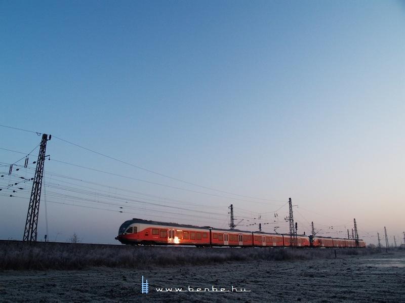 FLIRT a napkeltében Vámosgyörkön fotó