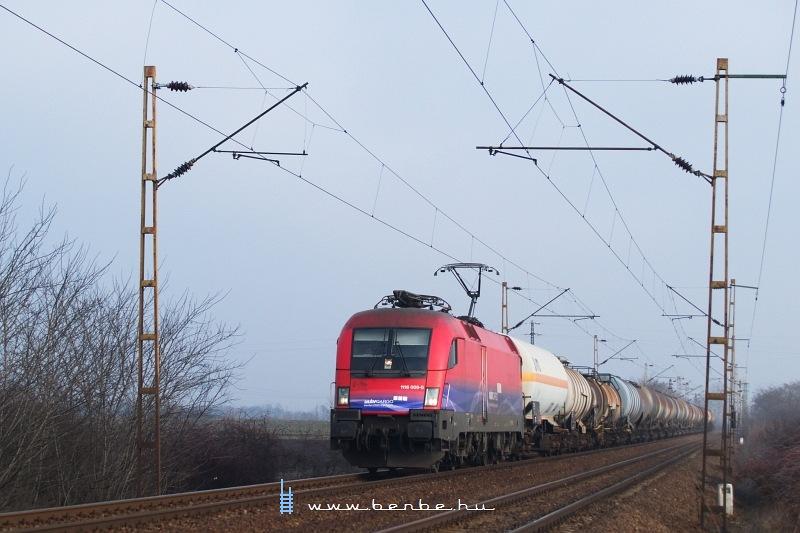 MÁV-Cargo 1116 009-0 Ludas és Karácsond között fotó