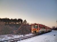 The M�V Sprinter railbus 6341 036-9 at M�trasz�l�s-Hasznos stop