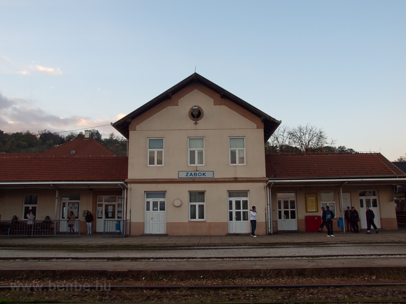 Zabok állomás fotó