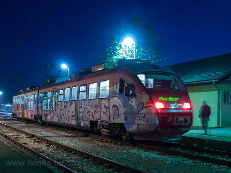 The SŽ 312 005 seen at photo