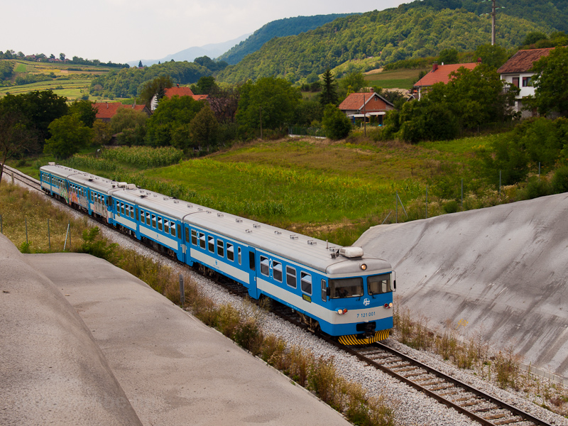 The HŽ 7121 001 seen b photo