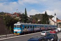 A HŽ 7 121 012 Žutnica és Krapina között