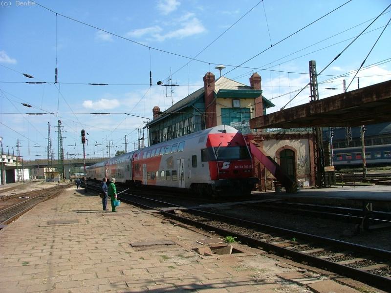 Erlebniszug Wiesel-kocsikkal Budapest Nyugati pu.-n fotó