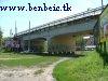 Vasbeton híd az Egressy út felett