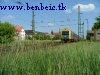 MÁV BDt 426 vezérlõkocsi Városligeti elágazásnál