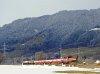 1063 041-6 egy kis tolatós tehervonat élén Wörgl és Hopfgarten között