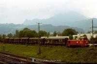 2067 018-8 Salzburgnál dolgozik komoly terhével 1988 szeptember 6-án