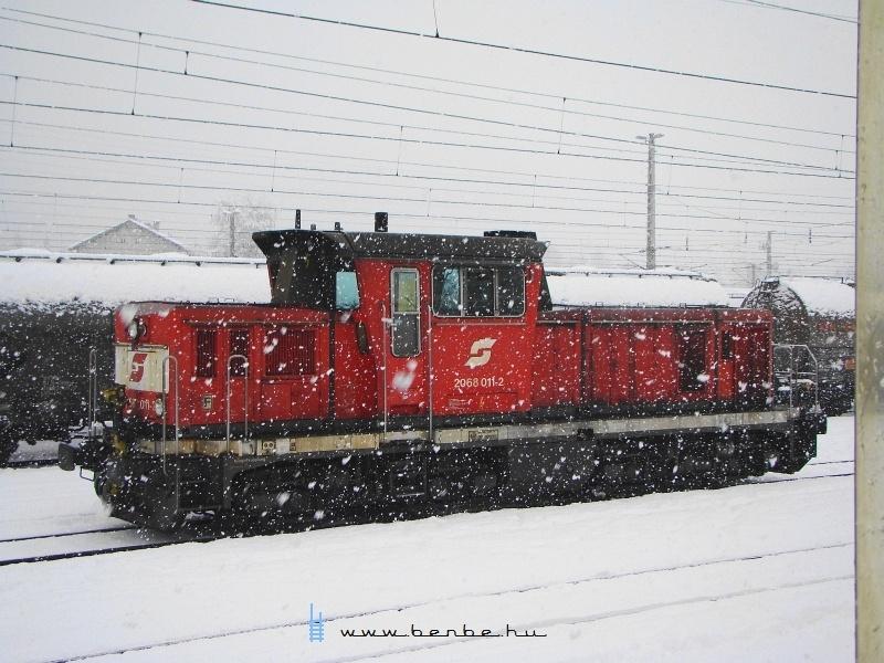 Február 3-án a 011-2  dolgozott a Wörgl 2. tartalék szerepkörben  fotó