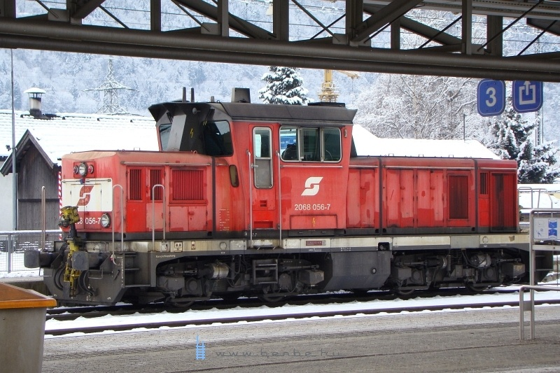 2068 056-7 a jenbachi tartalék 2008. február 2-án fotó