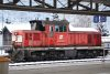 The 2068 056-7 is the shunter at Jenbach at the 2nd February, 2008.