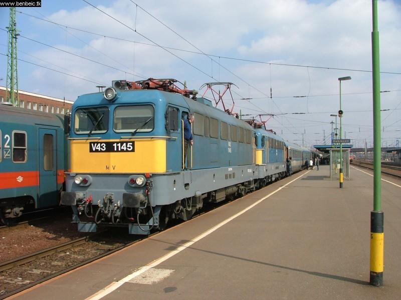 V43 1145 Debrecenben fotó