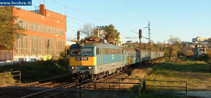 V43 1058 a Déli pu. után fotó