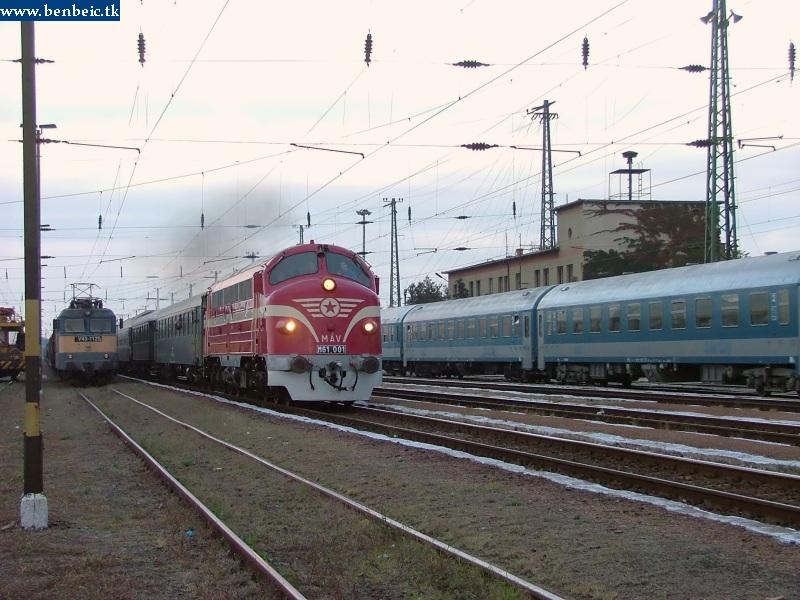 M61 001 Szajol állomáson fotó