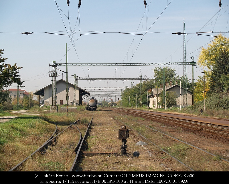 Nagytétény állomás látképe fotó
