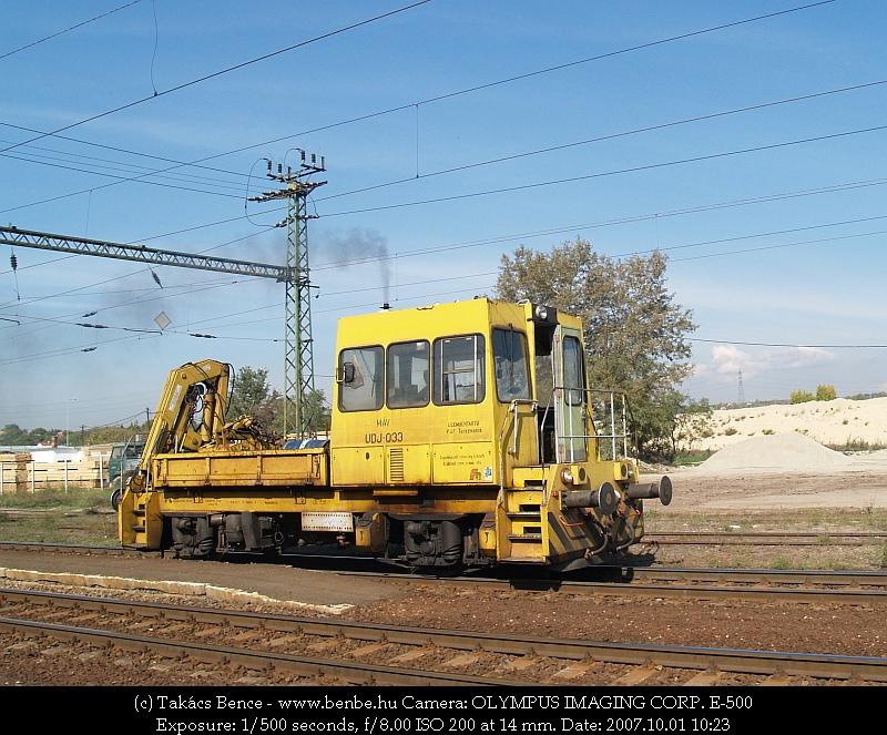 Az UDJ Nagytétény-Diósd állomáson fotó
