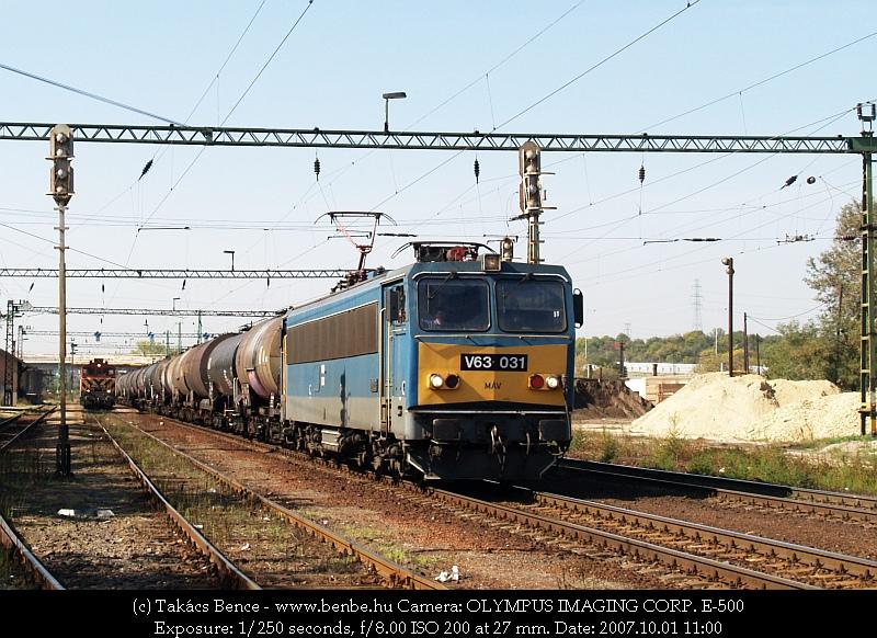V63 031 és M44 419 Nagytétény-Diósd állomáson fotó