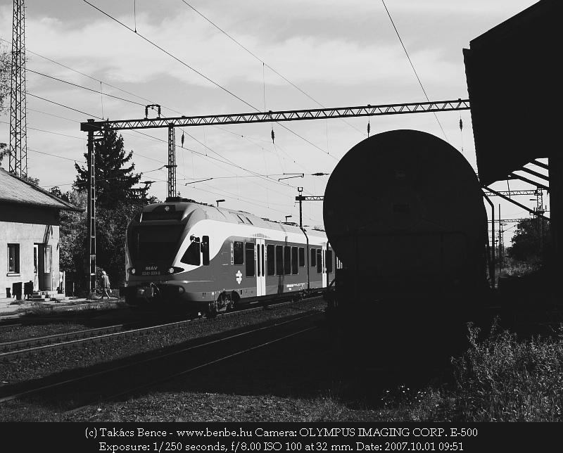 5341 009-8 Nagytétény állomáson fotó