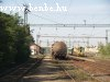 The UDJ crane vehicle and the freight train at Nagyt�t�ny-Di�sd