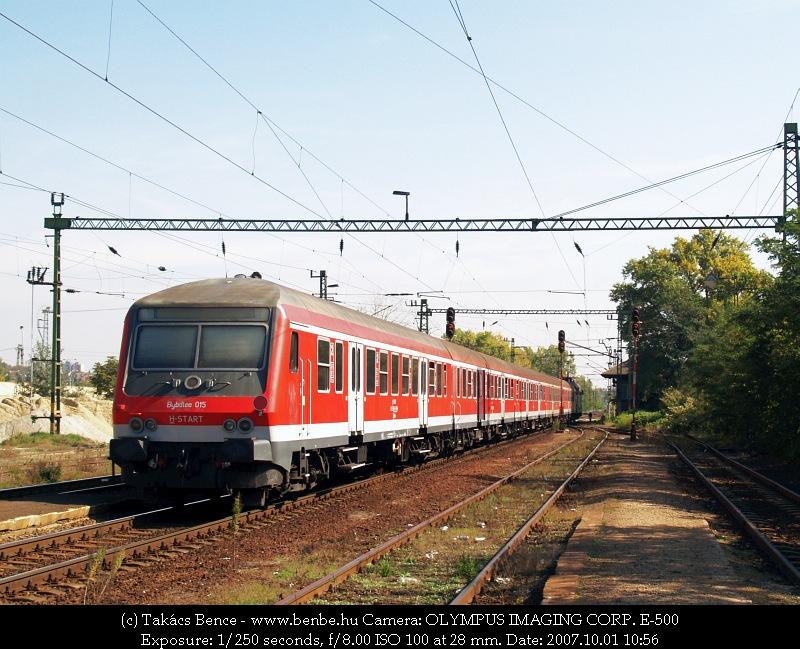Bybdtee 015 Nagytétény-Diósd állomáson fotó