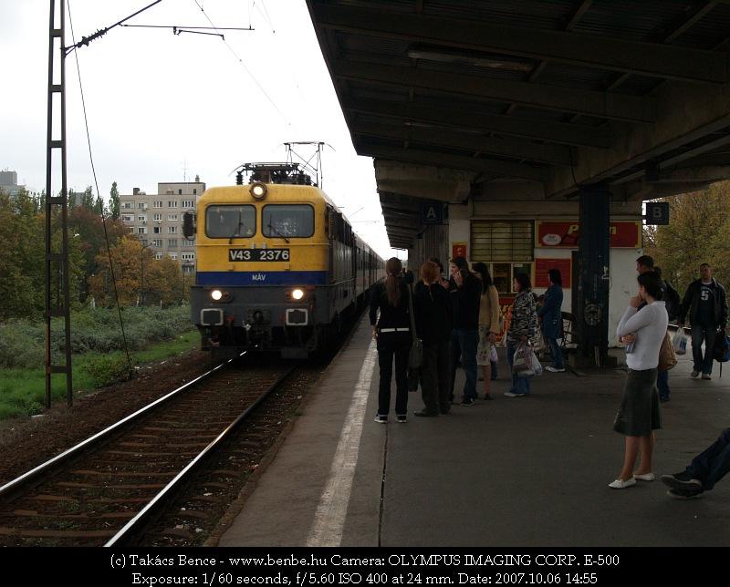 V43 2376 Zuglóban fotó